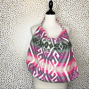 Merona embroidered purse